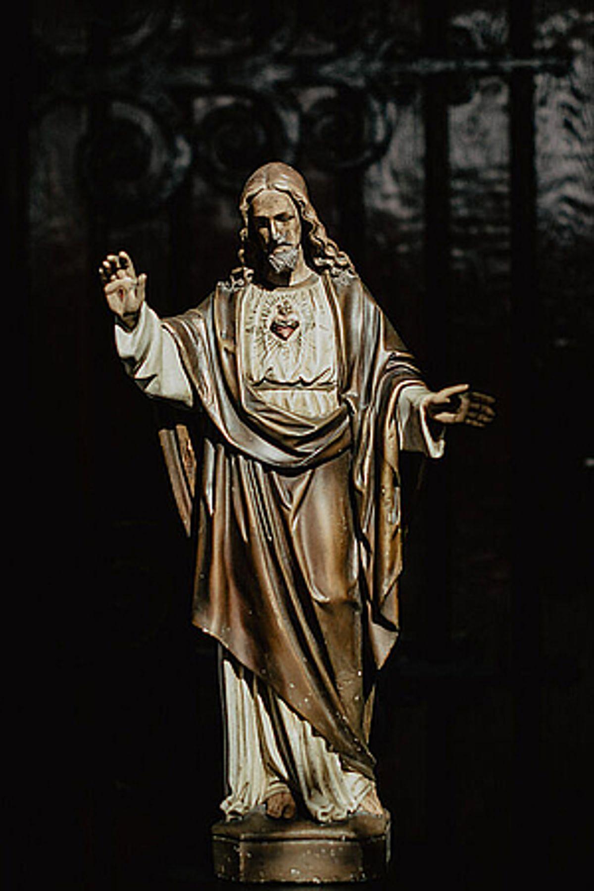 Adieu God?/Mariabeeld
